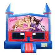 Barbie bounce house