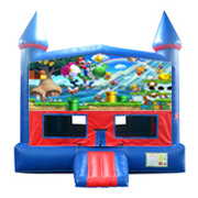Super Mario bounce house