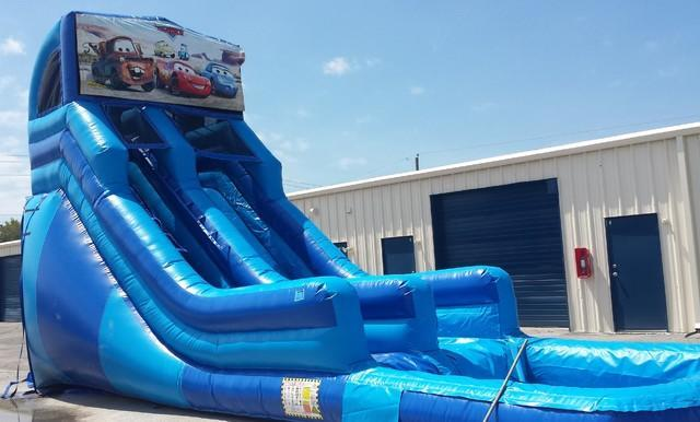 20 ft module slide cars