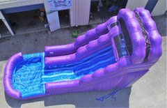 16  ft Purple Slide