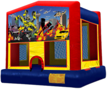 Robot Battle Bounce House