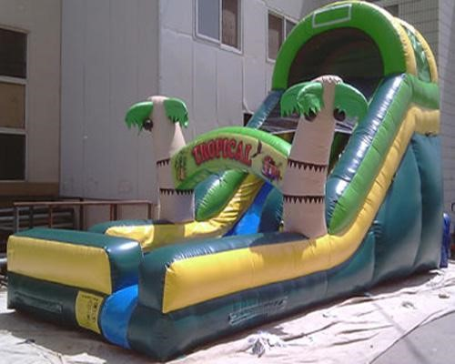 Tropical Waterslide from biloxi Bounce House