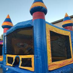 Melting Arctic Combo Bounce House Rental Biloxi Bounce