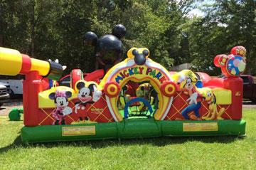 kid inflatable backyard