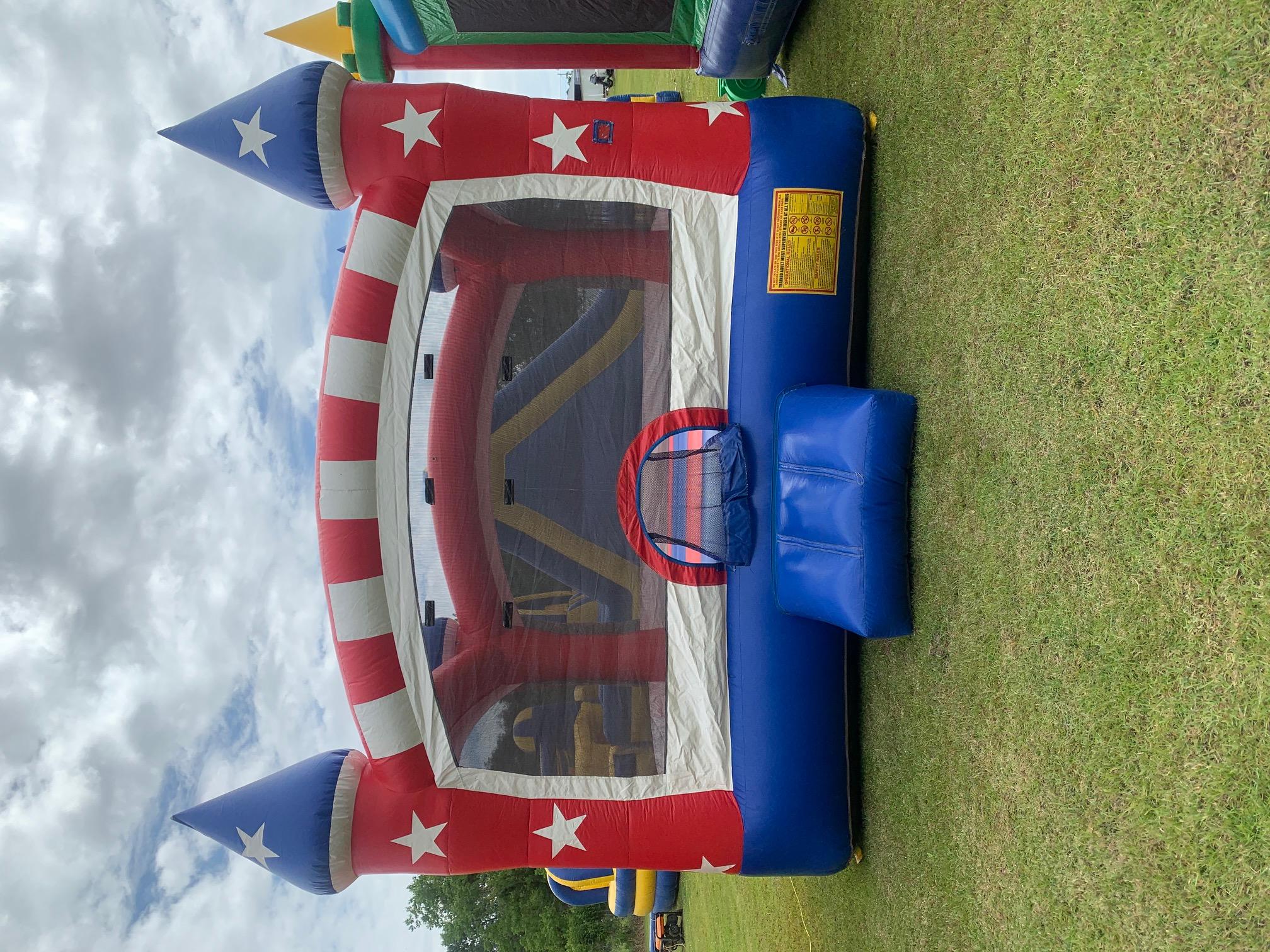 Captain America Bounce House