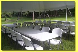20 x 40 Tent, 8 Tables, 48 Chairs