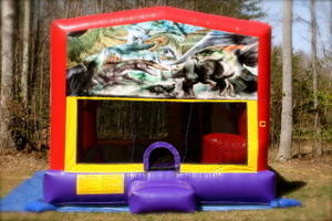 Dinosaurs Combo 4 Bounce House