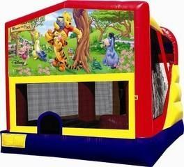 Tigger and Pooh Combo 4 Bounce House