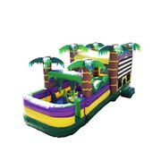 30 Ft Palm Beach Obstacle Bounce HouseBest ages 2+Size 30L X 13W X 16H *NEW 2021*