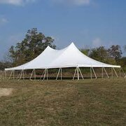 60X40 DOUBLE HIGH PEAK POLE TENT