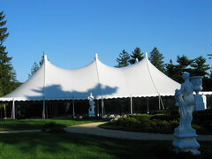 60X80 DOUBLE DOUBLE HIGH PEAK POLE TENT