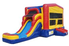 Water Slide & Bounce House Combo (176)Best for ages 4+Size 24'L x 11'W x 13'H **Most Popular Rental**