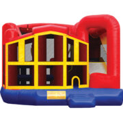 5 N 1 Combo Bounce HouseBest for ages 3+Size 19'L X 18'W X 17'H