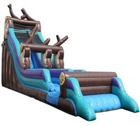 22 FT River Rapids Water Slide (190)Best for ages 6+Size 43'L x 12'W x 22'H