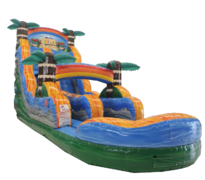 18 FT TIKI PLUNGE W/ POOLBest for ages 6+Size 32'L X 11'W X 18'H  *NEW AUGUST 2020*
