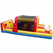Mini-Obstacle Course (183)Best for ages 3+Size 32'L x 13'W x 11'H