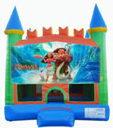 Moana Bounce House Best for ages 2+Size 15'L x 15'W x 15'H