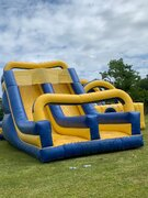 FUN Turn Around Obstacle Course (155/156/157)Best for ages 6+Size 34'L x 55'W x 20'H