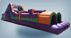45' Obstacle Course DRY (141/142)Best for ages 4+Size 45'L x 11'W x 12'H