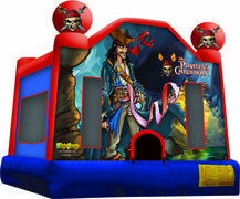 Pirates of the Caribbean 158  Bounce HouseBest for ages 2+Size 15'L X 15'W X 15'H