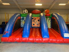 Sports Arena 3 in 1 Best for ages 3+Size 16'Lx20'Wx12'H