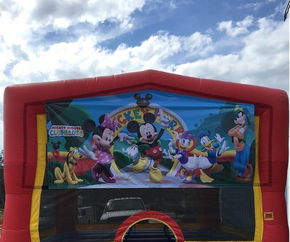 Mickey Mouse 2 Bounce House