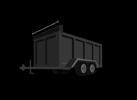 15 yard dump trailer