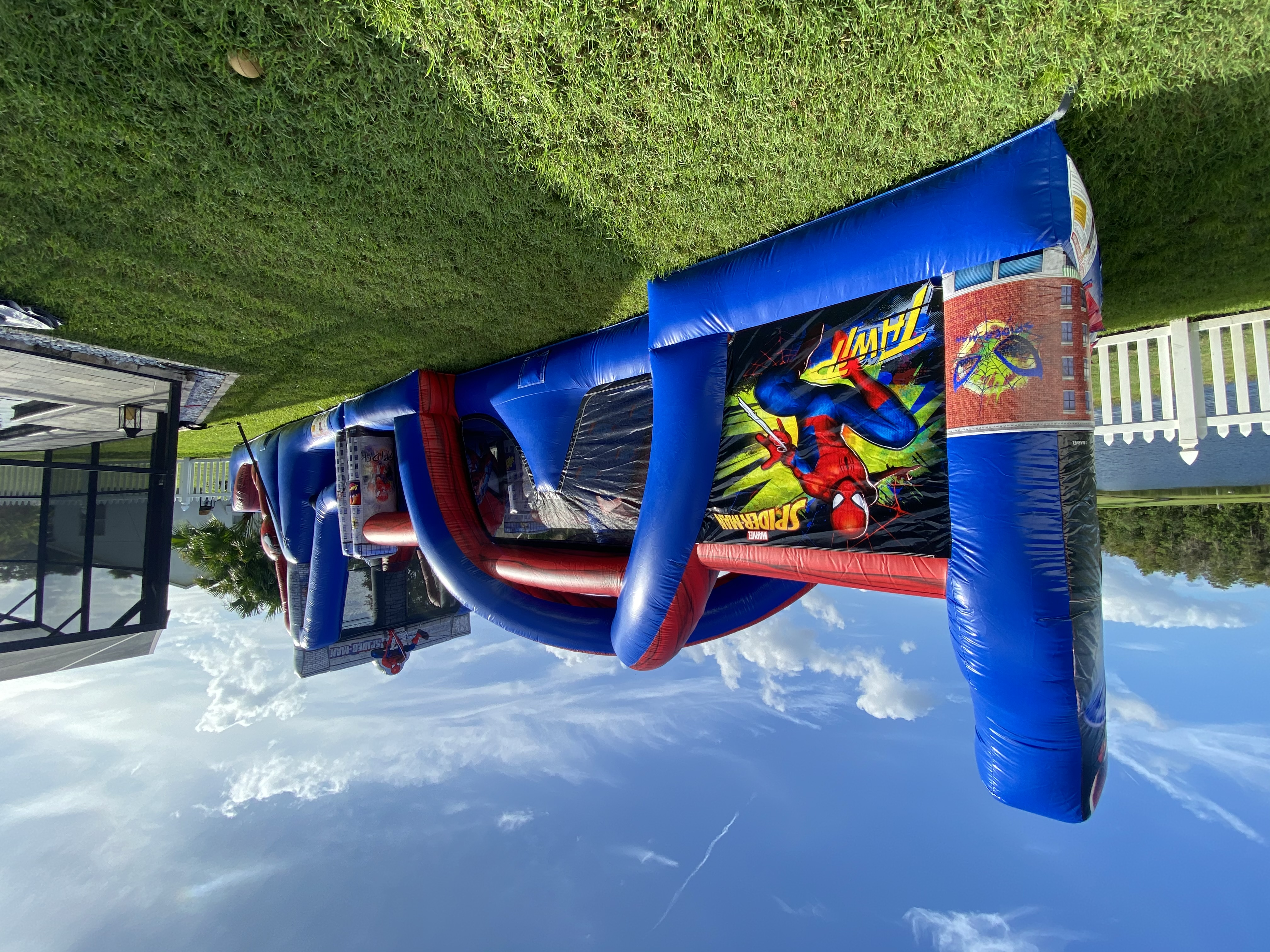 Spiderman Obstacle Course