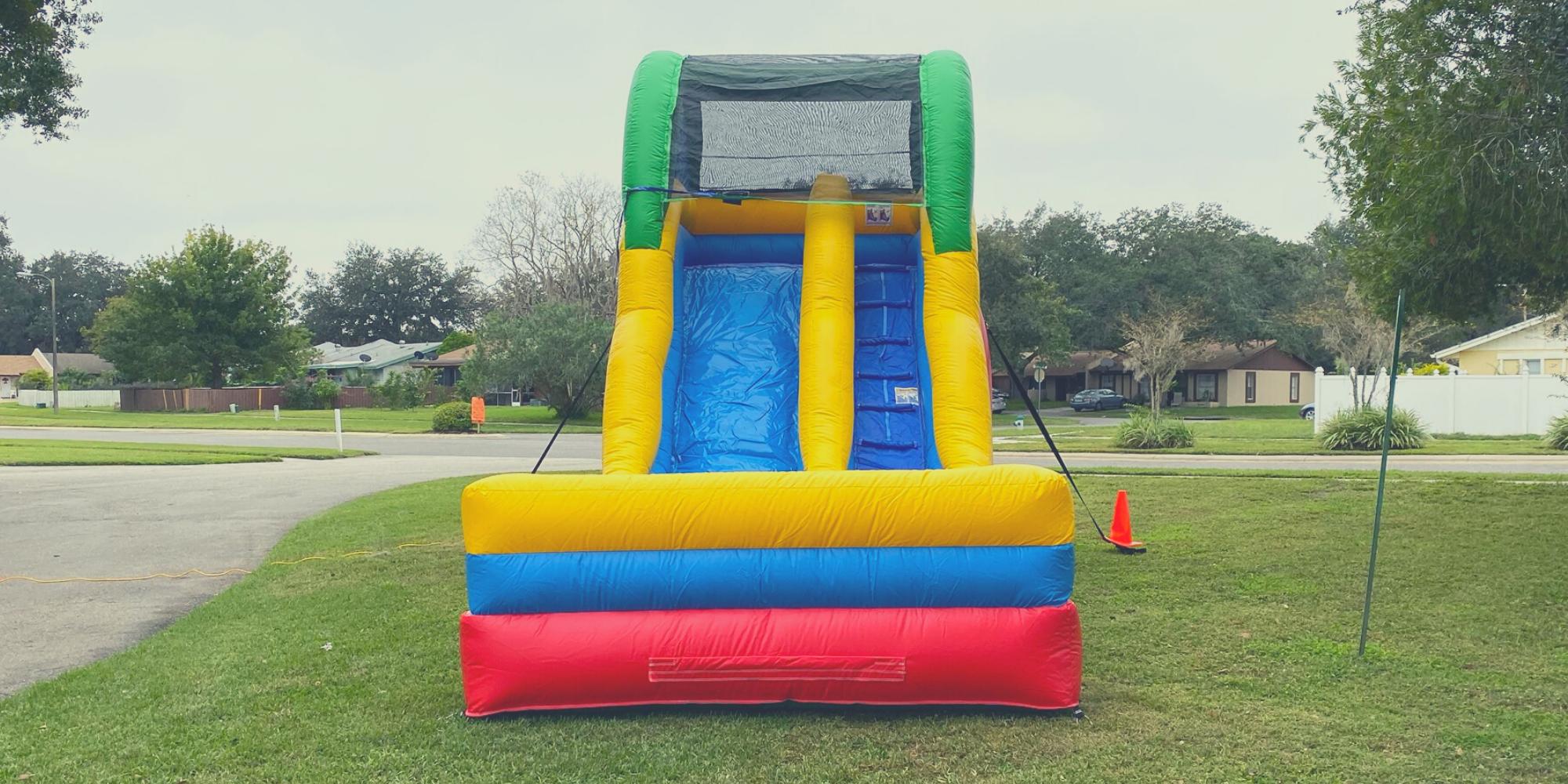 15 feet slide