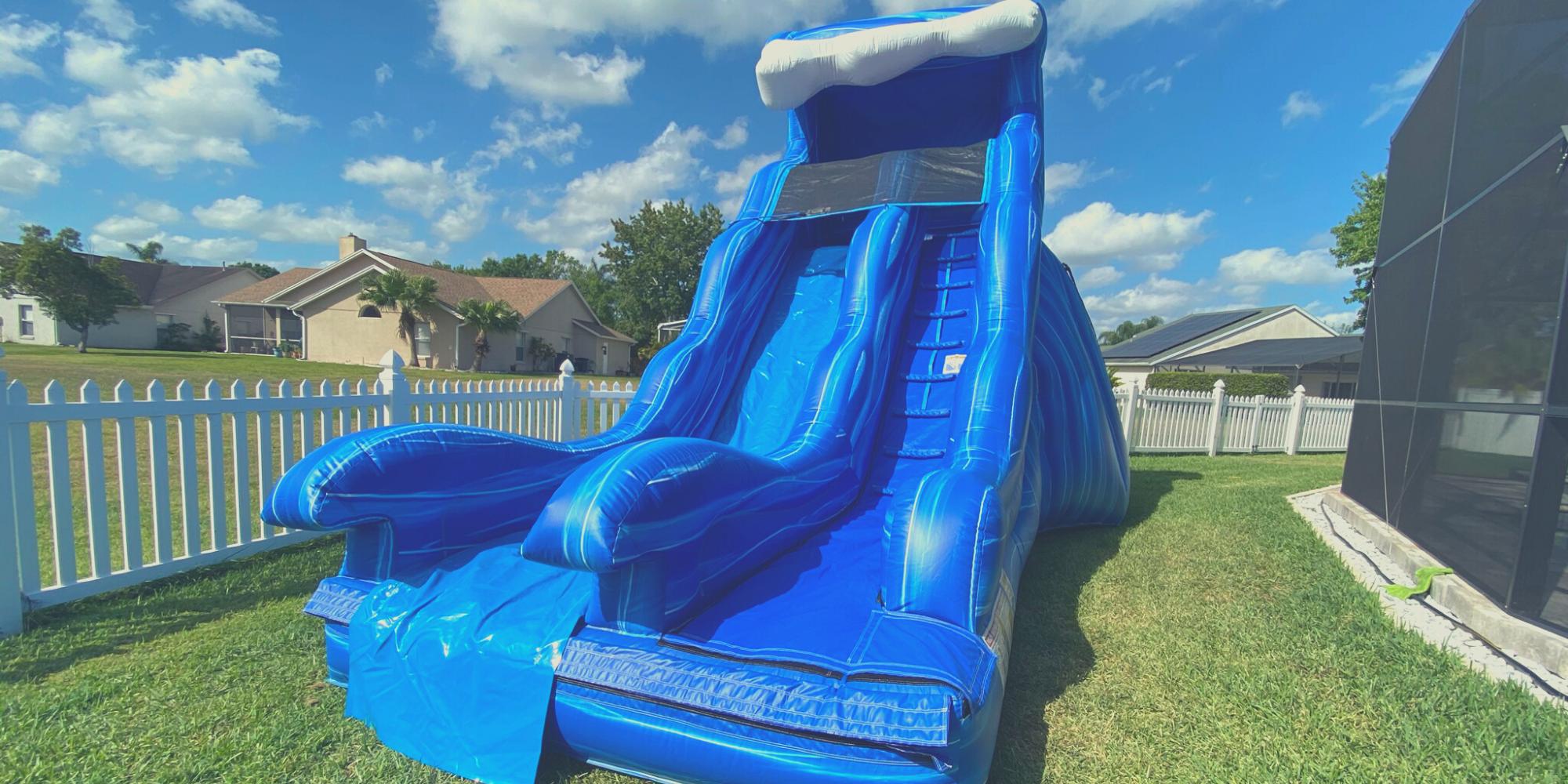 17 feet slide
