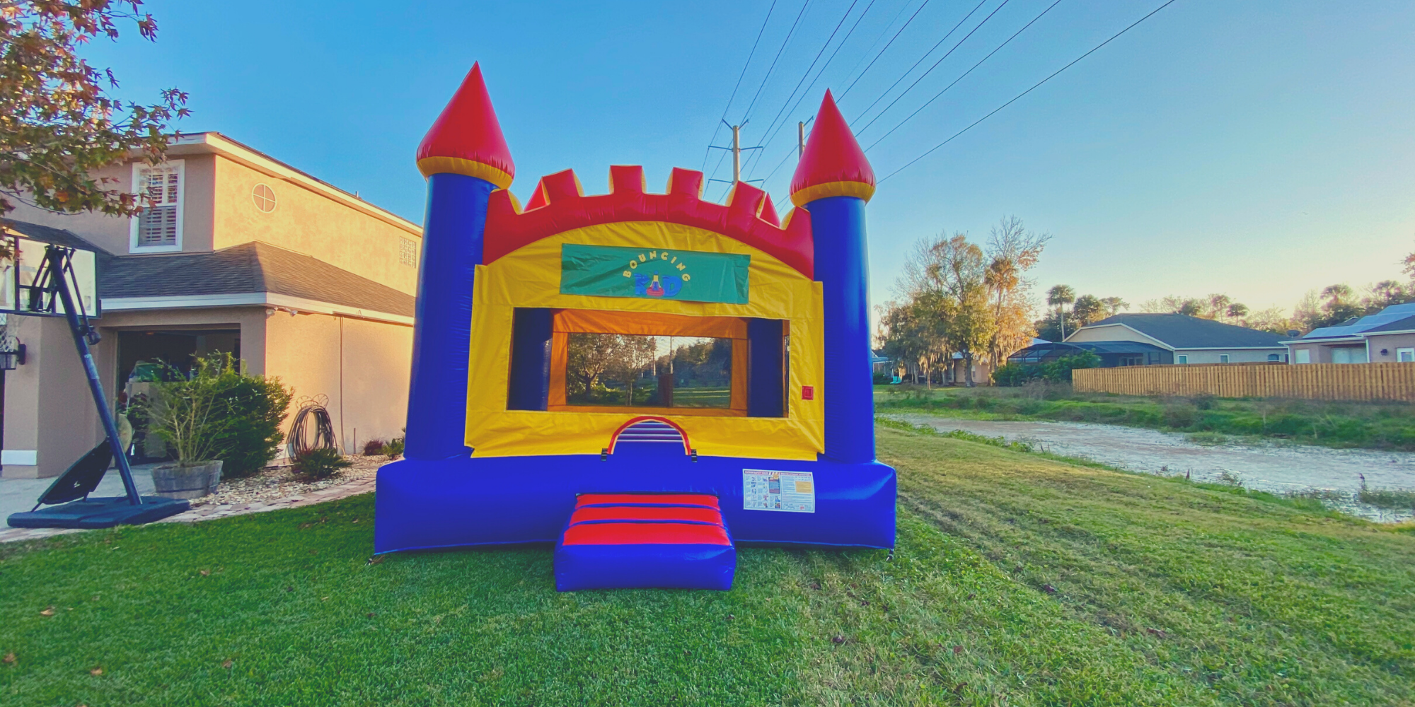 Bouncy Castle with Arched Top