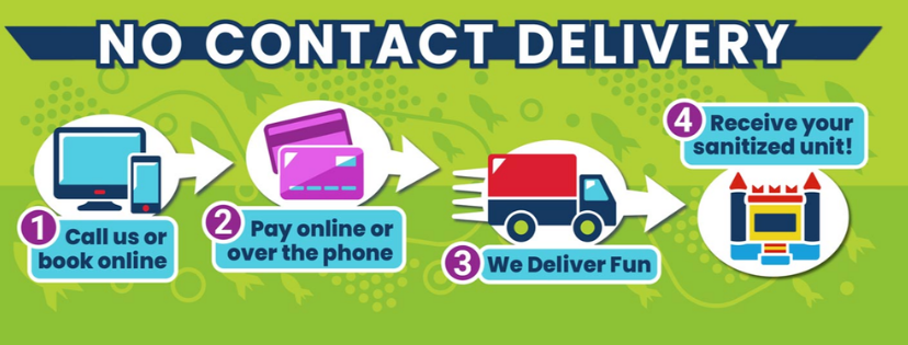 No contact delivery process