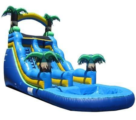 20' Tropical Water Slide - A | PRICE:  $700