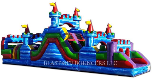 45' Marble Obstacle Course - PRICE:  $2,800.00