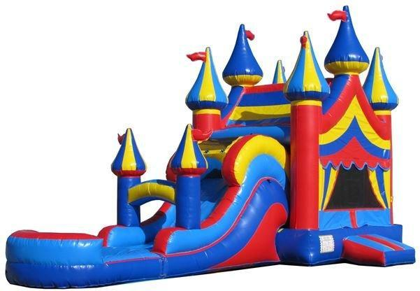 Big Top Combo (w/ Water Slide)