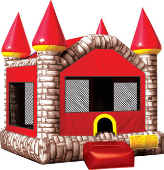 Camelot Bounce House, BROWN (13' x 13')