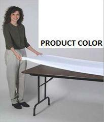 Kwik Covers Elastic Fitted Table Cover (WHITE):  $2ea
