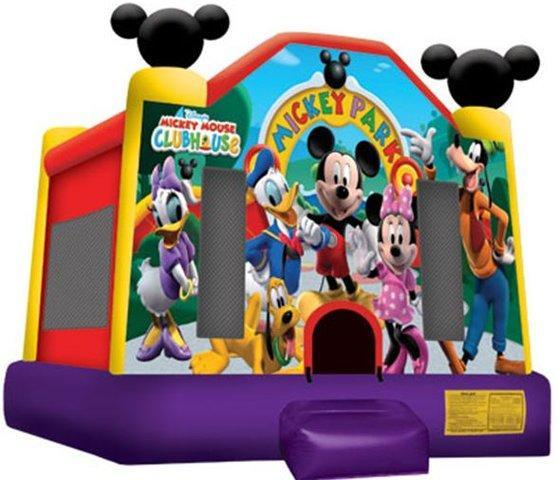 Mickey Mouse Clubhouse Moonwalk (15' x 15')