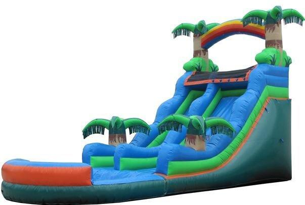 20' Tropical Water Slide - B