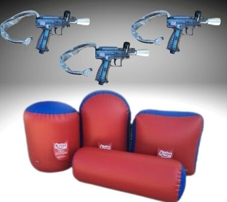 Pick up laser tag guns