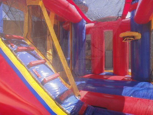 Bouncy-house-with-slide-carnival-theme-maine-new-hampshire