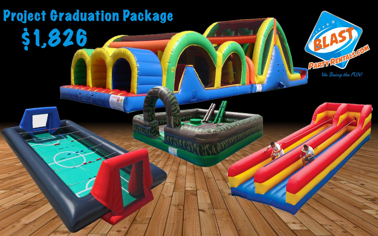 Project Graduation rental package