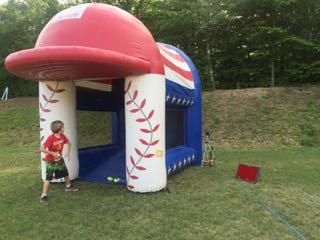 Speed-pitch-baseball-bounce-rental-Maine