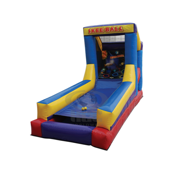 Inflatable-Skee-ball-rental-game-in-Maine-and-New-Hampshire