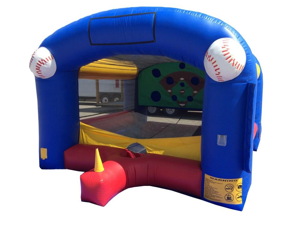 Inflatable-Moonwalk-t-ball-interactive-game