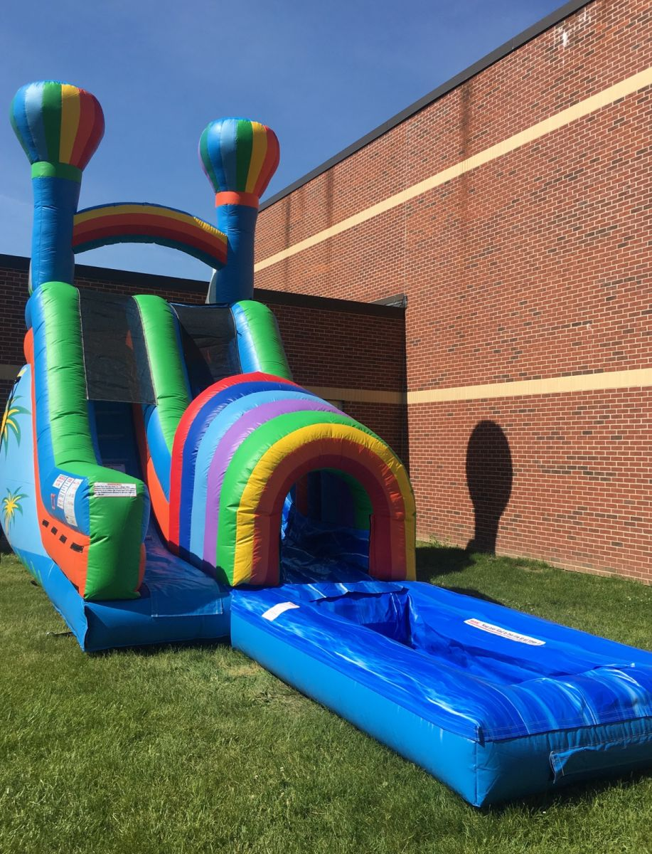 Tropical-water-slide-rental-bouncy-house-rentals