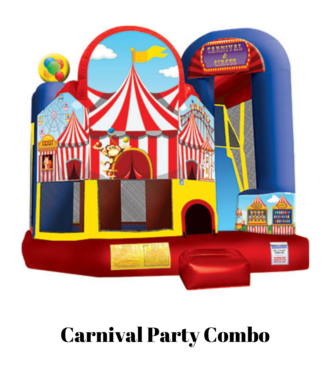 rent Carnival Party Combo Bounce House