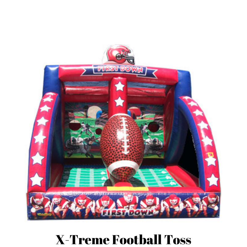 Rent inflatable football game