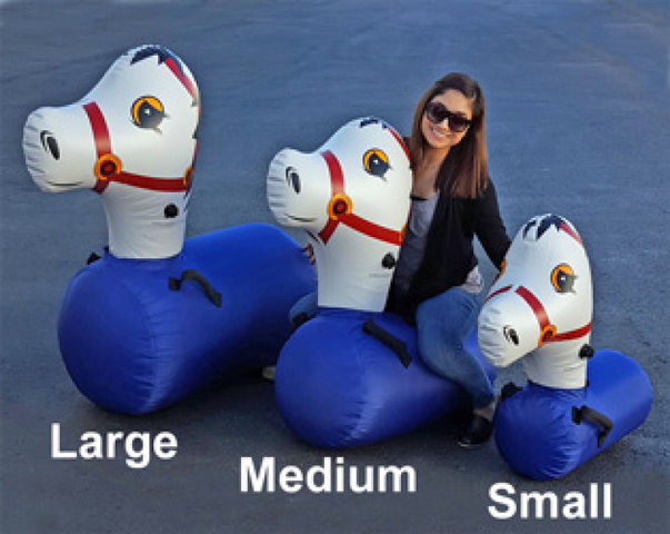 Pony Hops Inflatable Horse Racing - small