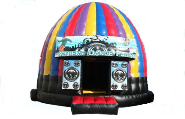 Extreme Disco Dome Bounce House